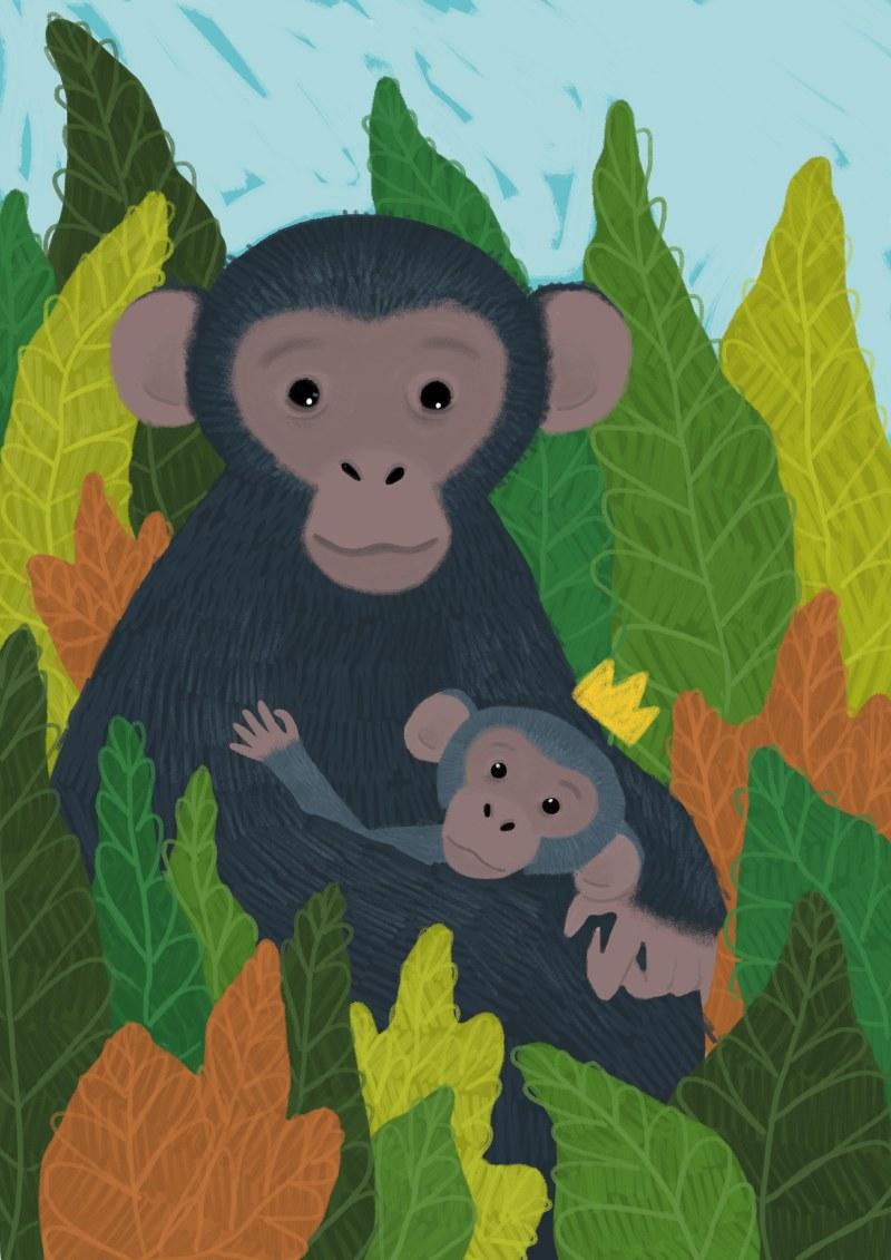 sjimpanser krone1